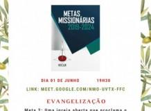 Estudo da 2ª Meta Missionária da IECLB
