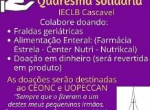 Campanha Quaresma Solidária - Cascavel/PR