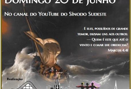 Culto: 4° Domingo após Pentecostes - Paróquia no Vale do Paraíba - São José dos Campos/SP - 20/06/2021