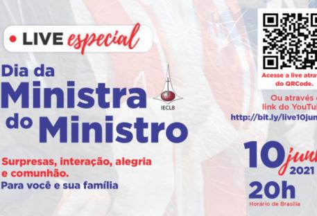 [Live] Dia da Ministra e do Ministro