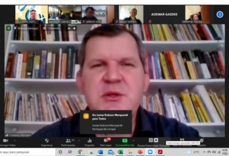 Lideranças Paroquiais dialogam on-line