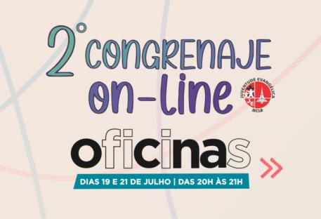 Inscreva-se para as oficinas do 2º CONGRENAJE on-line!