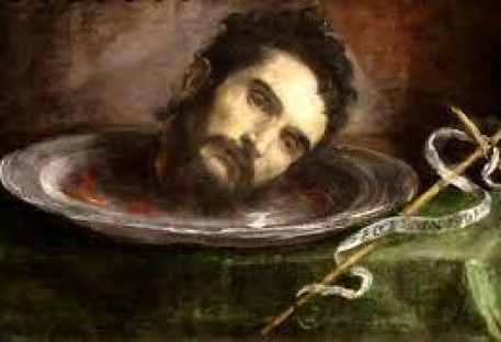 João Batista: o profeta decapitado que permanece na cabeça do povo.