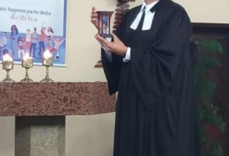 Pastor Evandro Elias assume Paróquia Cristo Libertador