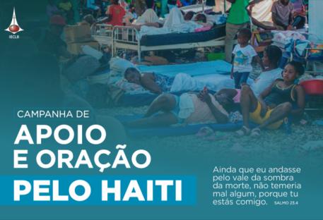 Campanha de Apoio e Oração pelo Haiti
