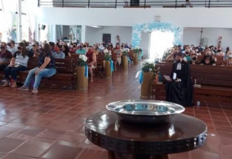 Templo da Comunidade da Paz-Espigão do Oeste completa 35 anos!