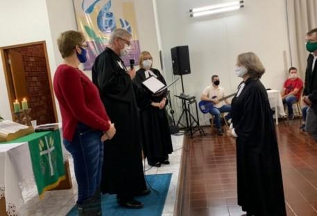 Pa. Christa Starosky é a nova Ministra da Paróquia de Entre Rios/PR