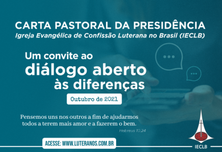 Carta Pastoral da Presidência da IECLB  - Outubro - 2021