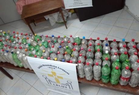 "LELUT Cristo Salvador arrecada 100 ""litrões"" de lacres"