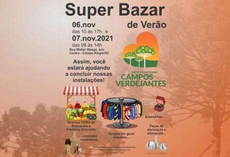 Super Bazar de Verão - Venha conferir!
