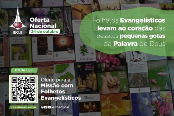 Oferte aqui - Missão com Literatura Evangelística