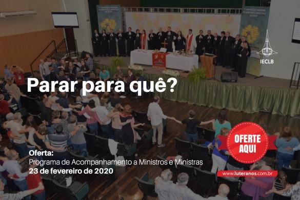 Programa de Acompanhamento a Ministros e Ministras - 23-02-20