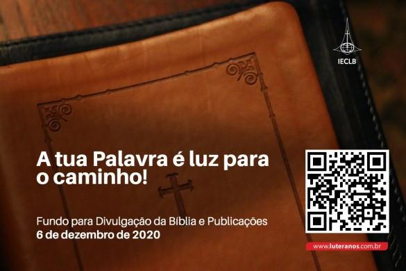Oferte aqui - Fundo para Divulgação da Bíblia e Publicações - 06-12-20
